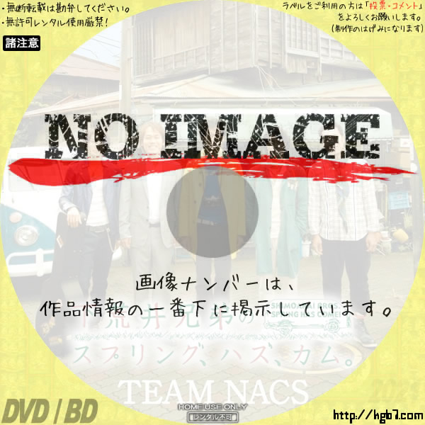 TEAM NACS 第13回公演 「下荒井兄弟のスプリング、ハズ、カム。」 (2009)