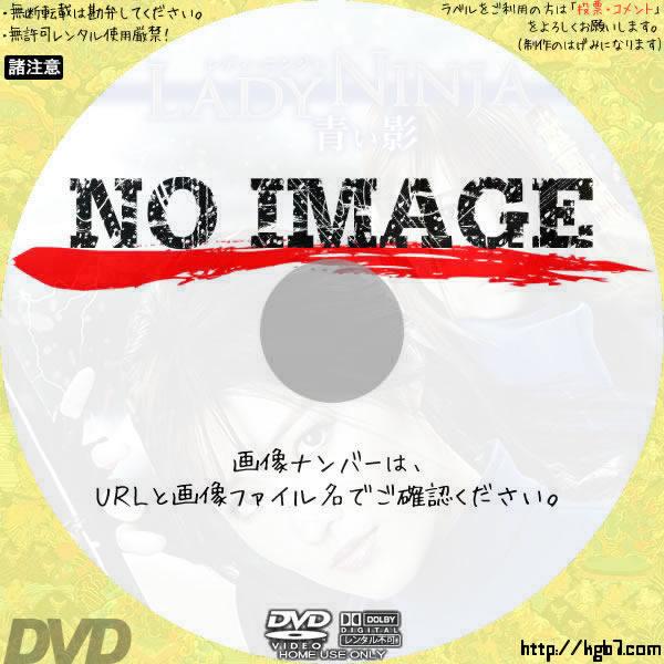 LADY NINJA 青い影 (2018) BD・DVDラベル