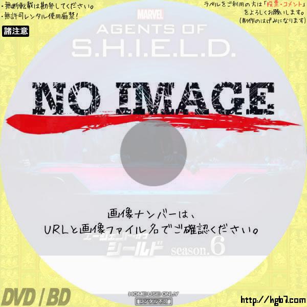エージェント・オブ・シールド シーズン6 (汎用1) BD・DVDラベル