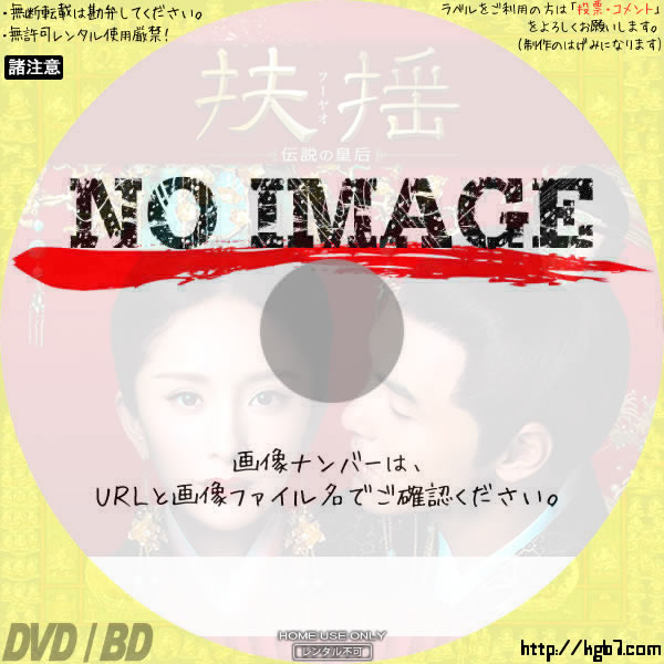 扶揺(フーヤオ) ~伝説の皇后~ (汎用01)(2018) BD・DVDラベル