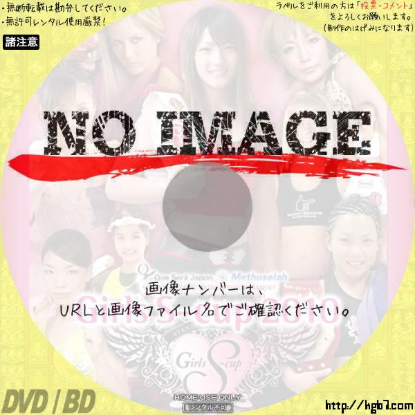 SHOOT BOXING WORLD TOURNAMENT Girls S-cup 2010 BD・DVDラベル